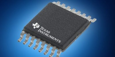 Mouser offers Texas Instruments' 16-bit ADS112C04 ADC