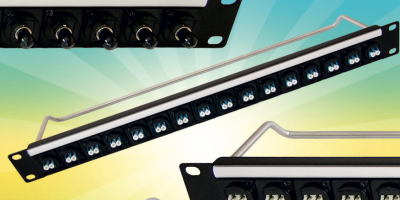 Fibre optic connector rack panels speed system assembly