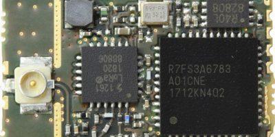 Compact LoRa module uses Renesas Synergy