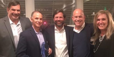 Digi-Key Honoured with TE Connectivity's 2018 High Service Global Distributor of the Year Award
