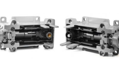 Modular power connectors reduce cabling in railways