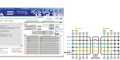 Switching signal routing software accelerates auto-detection