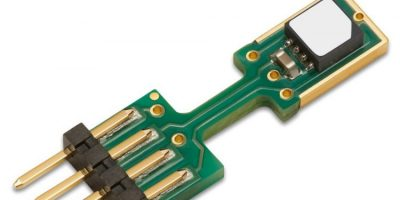 RS Components offers humidity and temperature sensor from Sensirion