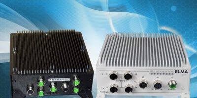 Embedded services router complies to EN 50155