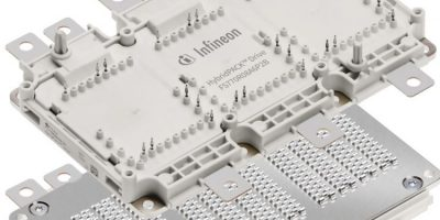 Infineon highlights power packs for electrification of vehicles