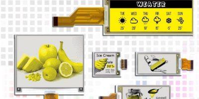 Pervasive Displays adds yellow to paper displays