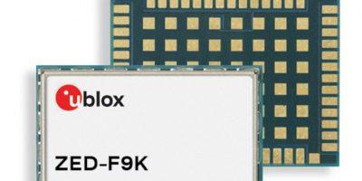 GNSS module boasts decimetre level accuracy
