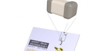 Antenova adds embedded antenna for dual-band WLAN