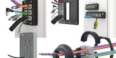 Cable entry systems from Conta-Clip protect to IP66 ingress