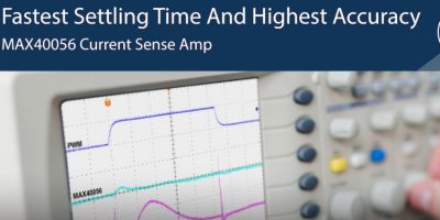 Bi-directional current sense amplifier quadruples speed