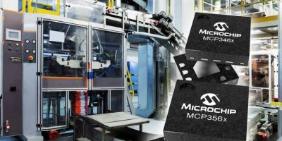 ADC from Microchip boost data rates to 153.6ksamples per second