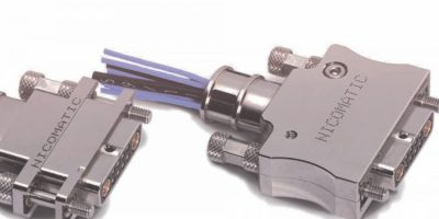 DMM connectors from Nicomatic have 360 degree EMC backshells