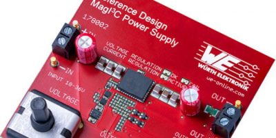 Wurth adds reference design with MagI³C power modules