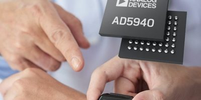 Analog Devices integrates electrochemical and impedance measurement