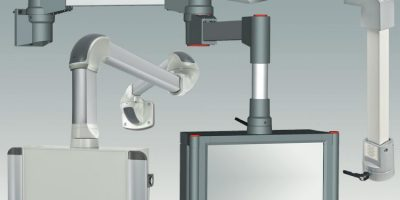 Rolec extends industrial workstations with suspension arm systems