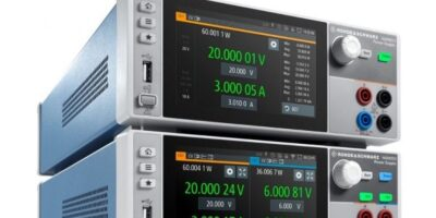 Power supply targets battery test applications