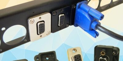 Cliff adds low profile VGA connector to FeedThrough range