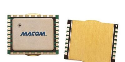 Broadband, multi-stage GaN-on-Si PA from Macom has flexible mounting