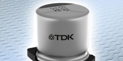 TDK designs capacitors in hybrid polymer technology