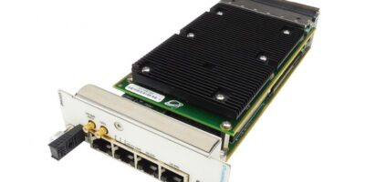 MicroTCA carrier hub from VadaTech uses 10G copper for Ethernet ports