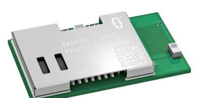 Mouser stocks Panasonic's PAN1780 Bluetooth 5 LE module