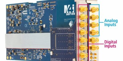 PCIe digitisers acquire analogue and digital signals simultaneously