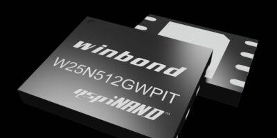 Winbond designs QspiNAND flash for Qualcomm's 9205 LTE modem