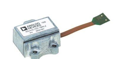Mouser stocks vibration sensors from Analog Devices