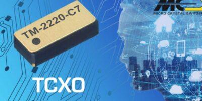 Micro Crystal offers TCXO in DFN package