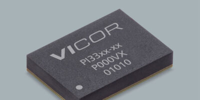 Vicor adds ZVS buck regulators in a BGA tin-lead package