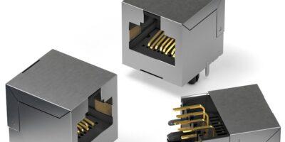 Modular jack connectors from Würth Elektronik include Cat6-compatible models