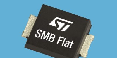 Low profile Schottky diodes increase power density