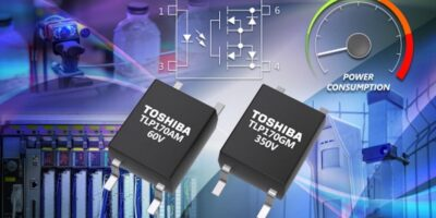 Photo relays have low trigger current to conserve battery power