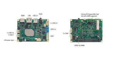 4K-ready Pico-ITX board suits IIoT applications