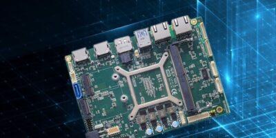 Display Technology offers Axiomtek SBC with AMD Ryzen processor