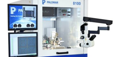 8100 wire bonder increases productivity says Palomar Technologies