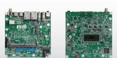 Nano-ITX embedded board is based on Intel 8th Gen Core processors