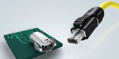SPE connectors from Harting are available from RS Components