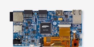 RS Components adds Renesas' RX72N Envision kit for IoT HMI