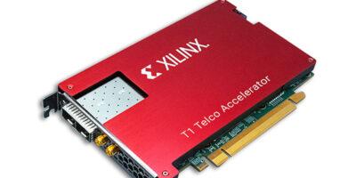 Xilinx says accelerator card increases 5G O-RAN virtual baseband units