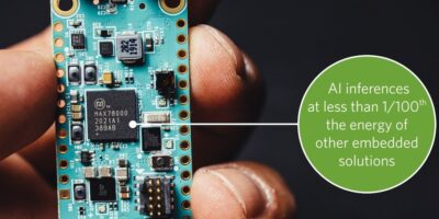 Neural network accelerator chip enables IoT AI in battery-powered devices
