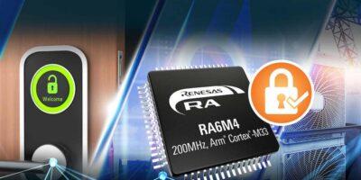Renesas says RA6M4 MCU family advances security for IoT