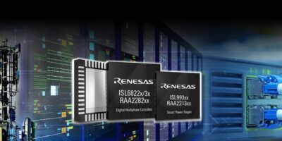 Renesas adds multi-phase controller and smart power stage for IoT infrastructure